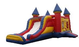 3 in 1 Castle Jumper Slide